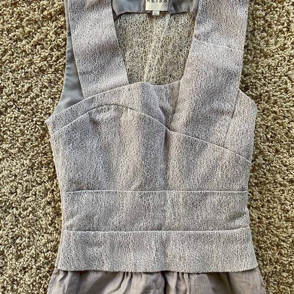 crazy price top design lowest price Reiss Dresses | Abigail Gray Lace Dress | Poshmark